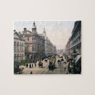 Avenida real Belfast Co. Antrim, Irlanda 1890 Puzzle Con Fotos