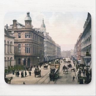Avenida real Belfast Co. Antrim, Irlanda 1890 Alfombrillas De Ratones