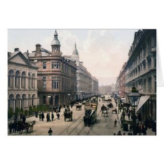 Avenida real Belfast Co. Antrim, Irlanda 1890 Tarjeta
