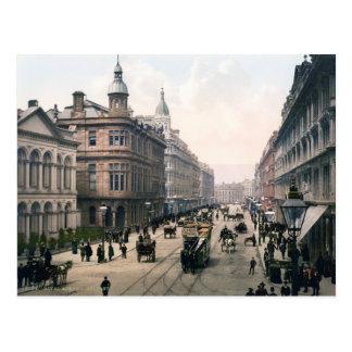 Avenida real Belfast Co. Antrim, Irlanda 1890 Postal