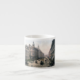 Avenida real Belfast Co. Antrim, Irlanda 1890 Taza Espresso