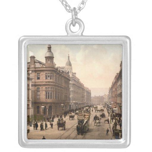 Avenida real, Belfast, Irlanda del Norte Collares Personalizados