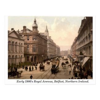 Avenida real, Belfast, Irlanda del Norte Postal