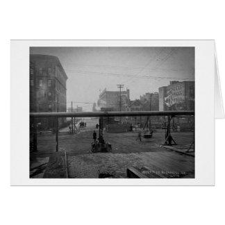 Avenida y 138a calle New York City de Cypress Tarjeta De Felicitación