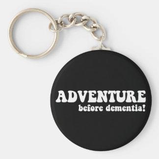 aventura antes de la demencia llavero
