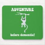 aventura antes de la demencia alfombrillas de ratones