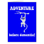 aventura antes de la demencia tarjetas