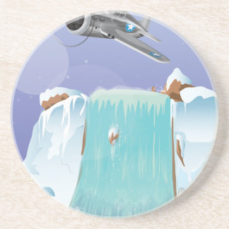 Aventura ártica posavasos diseño