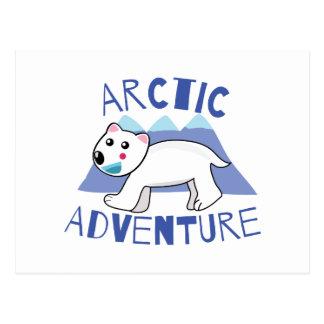 Aventura ártica tarjetas postales