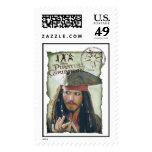 Aventura de Jack Sparrow Estampilla