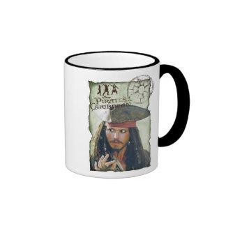 Aventura de Jack Sparrow Taza De Dos Colores