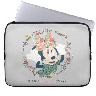 Aventura de la caza de Minnie Mouse el | Funda Portátil