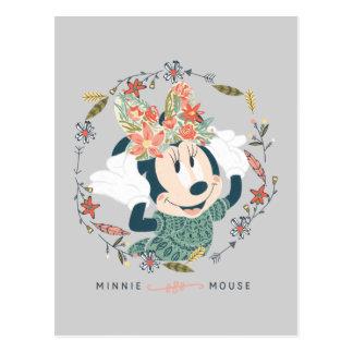 Aventura de la caza de Minnie Mouse el | Tarjetas Postales
