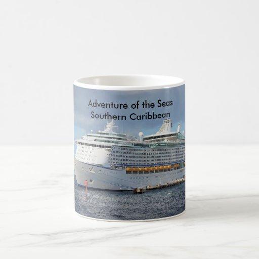 Aventura de la travesía meridional de los mares tazas