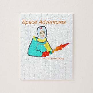 Aventura del espacio puzzle con fotos