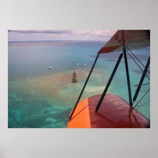 Aventura del mar y del aire póster