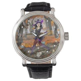 Aventura del otoño de Hester Relojes De Pulsera