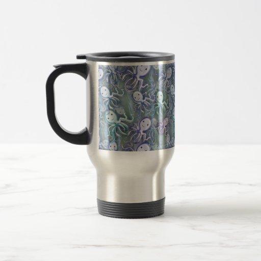 Aventura del pulpo taza de café