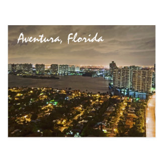 Aventura, la Florida, los E.E.U.U. Tarjeta Postal
