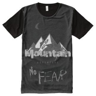 Aventura personalizada de la montaña ningún miedo