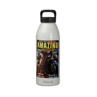Aventuras asombrosas #2 - objeto expuesto uno botella de agua