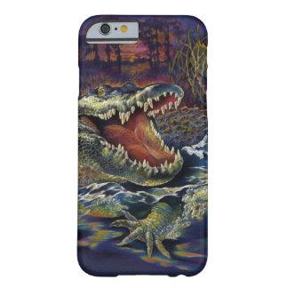 Aventuras del cocodrilo funda para iPhone 6 barely there