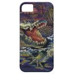 Aventuras del cocodrilo iPhone 5 Case-Mate cárcasa