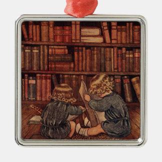 Aventuras en la biblioteca ornamento de reyes magos