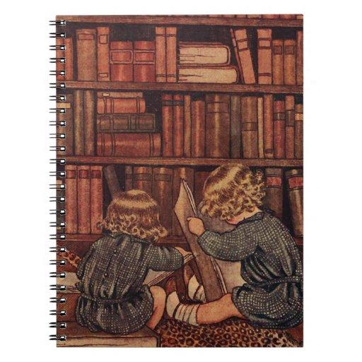 Aventuras en la biblioteca libreta