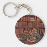 Aventuras en la biblioteca llaveros personalizados