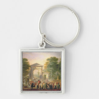 Avenue before the Botanical Gardens in Madrid, 178 Key Chains
