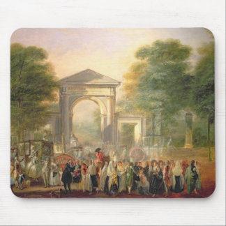Avenue before the Botanical Gardens in Madrid, 178 Mouse Pad