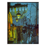 Avenue De Clichy by Louis Anquetin Poster