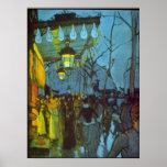 Avenue De Clichy de Louis Anquetin Impresiones