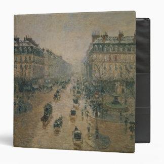 Avenue de L'Opera, Paris, 1898 3 Ring Binder