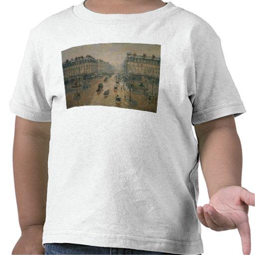 Avenue de L'Opera, París, 1898 Camisetas