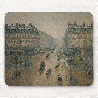 Avenue de L'Opera, Paris, 1898 Mouse Pad