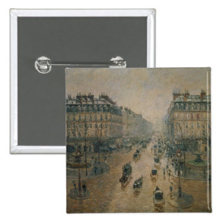 Avenue de L'Opera, Paris, 1898 Pinback Button