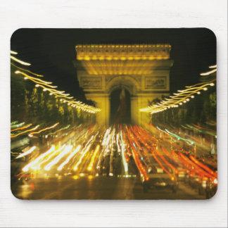 Avenue des Champs-Elysees, Arch of Triumph, Mouse Pad