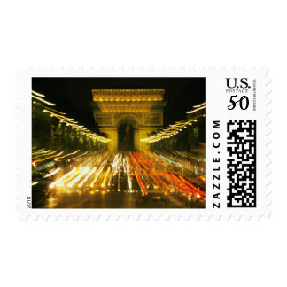 Avenue des Champs-Elysees, Arch of Triumph, Postage