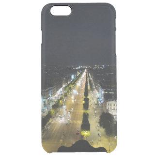 Avenue des Champs-Élysées in Paris Clear iPhone 6 Plus Case