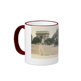 Avenue du Bois de Boulogne, Paris Vintage mug