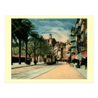 Avenue Felix-Faure, Cannes, France Vintage Postcards