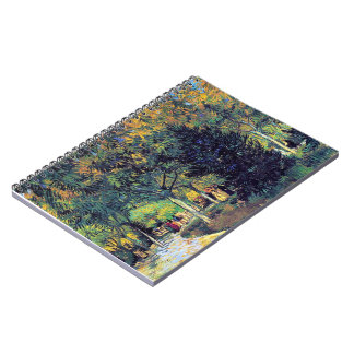 Avenue in the Park  Van Gogh Vincent Notebook