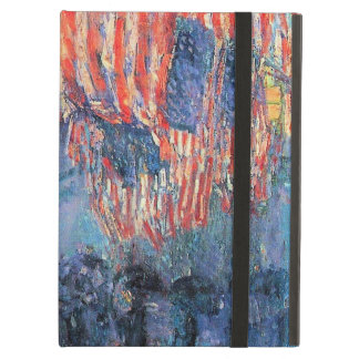 Avenue in the Rain by Childe Hassam, Vintage Art Case For iPad Air