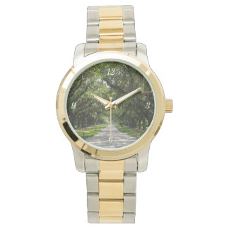 Avenue Of Oaks Wrist Watch