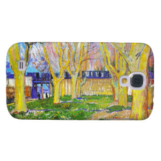Avenue of Plane Trees near Arles Station by Vincen Galaxy S4 Case