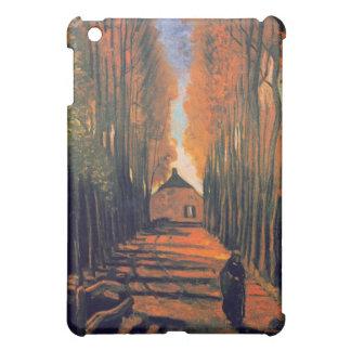 Avenue of Poplars in Autumn, Vincent Van Gogh iPad Mini Cases