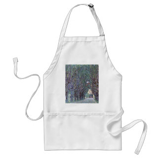 Avenue of Schloss Kammer Park cool Adult Apron