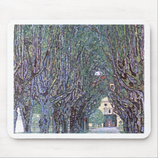 Avenue of Schloss Kammer Park cool Mouse Pad